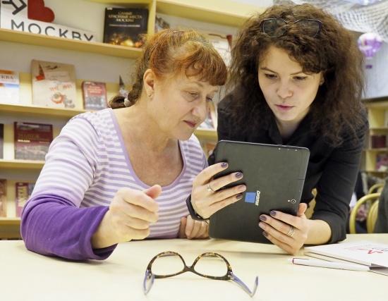 Получатели социальных услуг смогли принять участие в разминке для мозга
